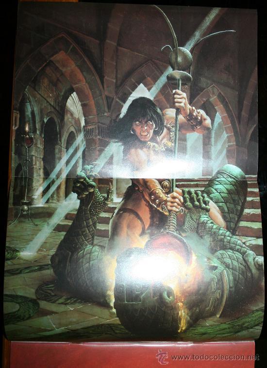 Cómics: CONAN POSTER BOOKS Nº 1 - FORUM - Foto 12 - 74030651