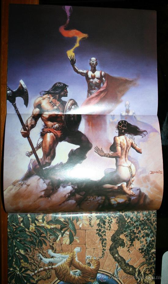 Cómics: CONAN POSTER BOOKS Nº 1 - FORUM - Foto 11 - 74030651