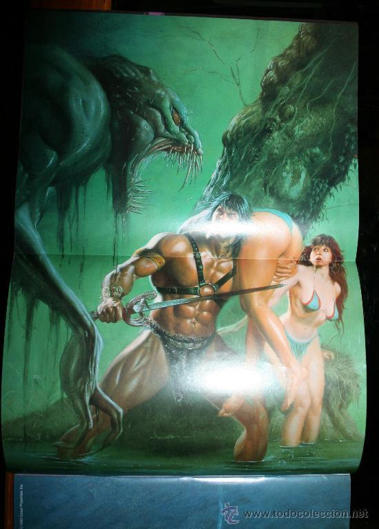 Cómics: CONAN POSTER BOOKS Nº 1 - FORUM - Foto 10 - 74030651