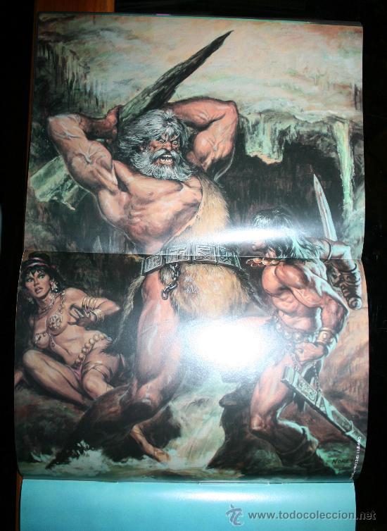 Cómics: CONAN POSTER BOOKS Nº 1 - FORUM - Foto 8 - 74030651