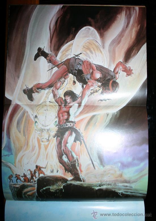 Cómics: CONAN POSTER BOOKS Nº 1 - FORUM - Foto 7 - 74030651