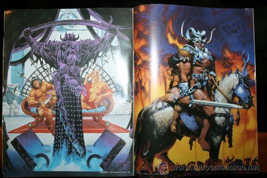Cómics: CONAN POSTER BOOKS Nº 1 - FORUM - Foto 6 - 74030651