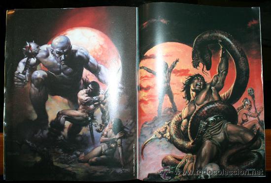 Cómics: CONAN POSTER BOOKS Nº 1 - FORUM - Foto 5 - 74030651