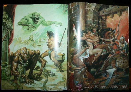 Cómics: CONAN POSTER BOOKS Nº 1 - FORUM - Foto 4 - 74030651
