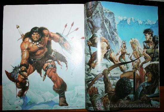 Cómics: CONAN POSTER BOOKS Nº 1 - FORUM - Foto 3 - 74030651