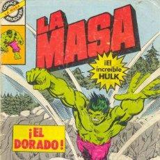 Cómics: LA MASA 13 BRUGERA HULK. Lote 27782499