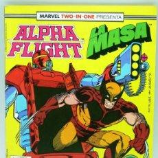 Cómics: ALPHA FLIGHT LA MASA Nº 46 ED MARVEL FORUM 1988. Lote 27794487
