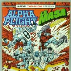 Cómics: ALPHA FLIGHT LA MASA Nº 49 ED MARVEL FORUM 1988. Lote 27794503