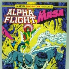 Cómics: ALPHA FLIGHT LA MASA Nº 53 ED MARVEL FORUM 1988. Lote 27794520