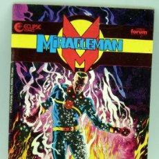 Cómics: MIRACLEMAN Nº 1 ED FORUM CÓMICS ECLIPSE 1990. Lote 27806786