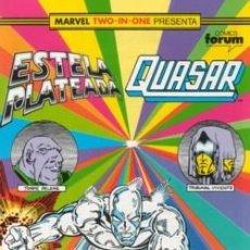 Cómics: MARVEL TWO-IN-ONE ESTELA PLATEADA QUASAR VOLUMEN 1 Nº 23 - DIFICIL DE CONSEGUIR . Lote 121060371