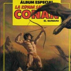 Cómics: ÁLBUM ESPECIAL LA ESPADA SALVAJE DE CONAN EL BARBARO - COMICS FORUM. Lote 27834099