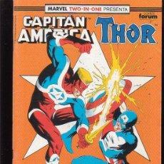 Cómics: CAPITAN AMERICA & THOR Nº 67 ( 1ª FORUM ). Lote 27842897
