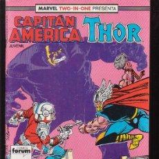Cómics: CAPITAN AMERICA & THOR Nº 55 ( 1ª FORUM ). Lote 27843018