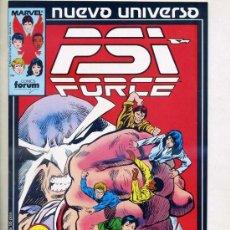 Cómics: PSI FORCE Nº3. Lote 27890085