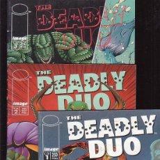 Cómics: THE DEADLY DUO, SERIE COMPLETA EN 3 EJEMPLARES. Lote 27906601