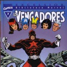 Cómics: LOS VENGADORES Nº 7 - EXCELSIOR BIBLIOTECA MARVEL - FORUM. Lote 27915811