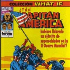 Cómics: CAPITÁN AMÉRICA Nº 38 - COLECCIÓN WHAT IF - MARVEL / FORUM. Lote 27938585