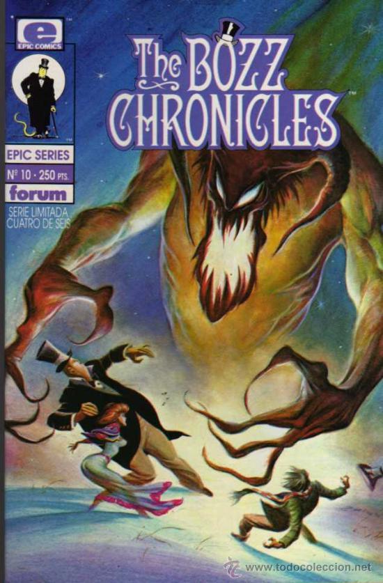THE BOZZ CHRONICLES Nº 10 - EPIC SERIES - FORUM (Tebeos y Comics - Forum - Otros Forum)