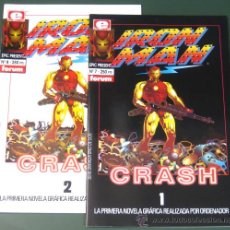 Cómics: IRON MAN: CRASH # 1 Y 2 - COMPLETA - ( MARVEL / FORUM ). Lote 29815474