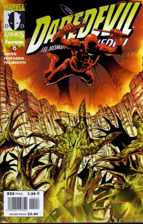 DAREDEVIL Nº 6 EL HOMBRE SIN MIEDO - MARVEL KNIGHTS / FORUM (Tebeos y Comics - Forum - Daredevil)