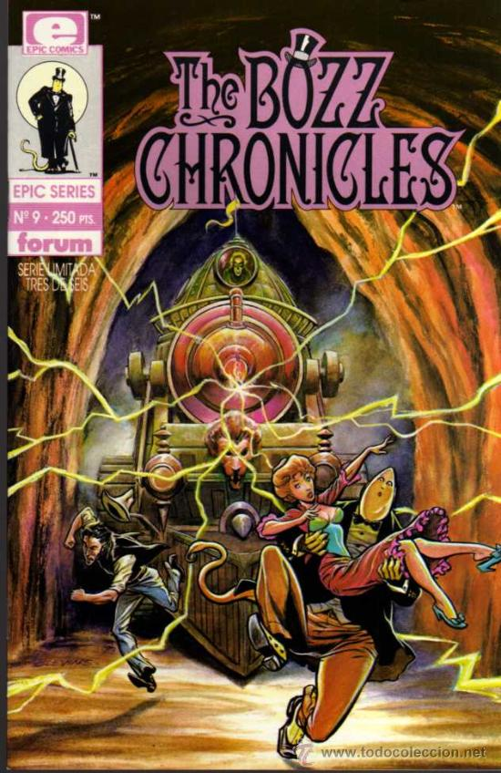 THE BOZZ CHRONICLES Nº 9 - EPIC SERIES - FORUM (Tebeos y Comics - Forum - Otros Forum)