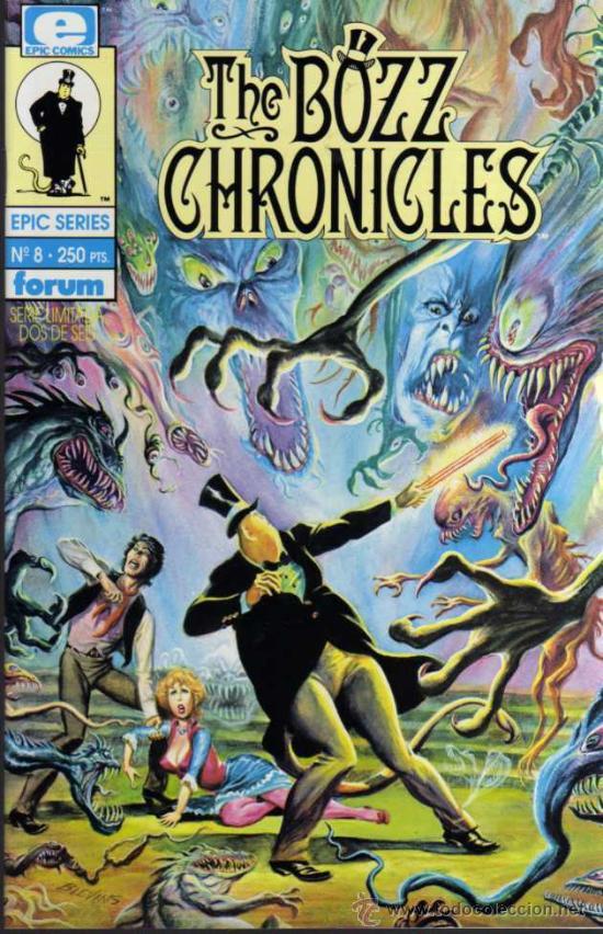 THE BOZZ CHRONICLES Nº 8 - EPIC SERIES - FORUM (Tebeos y Comics - Forum - Otros Forum)