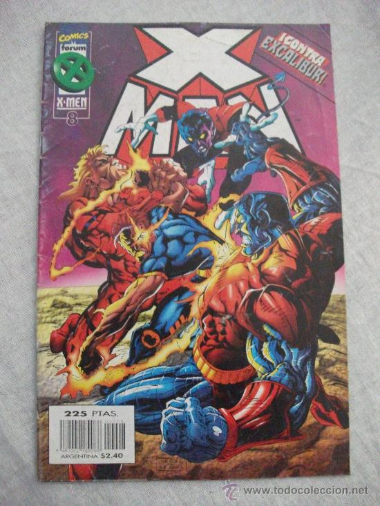 X MAN VOL II Nº 8 (Tebeos y Comics - Forum - X-Men)