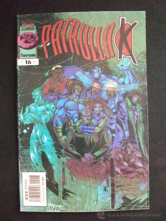 PATRULLA X VOL II Nº 16 COMICS FORUM (Tebeos y Comics - Forum - Patrulla X)