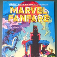 Cómics: MARVEL FANFARE - VISION Y BRUJA ESCARLATA ( SPIDERMAN , MARVEL , FORUM ). Lote 28158962