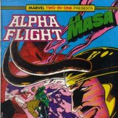 ALPHA FLIGHT/LA MASA Nº 44 - MARVEL TWO-IN-ONE - 09/1989