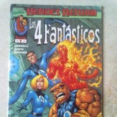 Cómics: LOS 4 FANTASTICOS -HEROES RETURN LOTE NºS 1, 2 Y 3 (MIRAR FOTOS). Lote 28163212