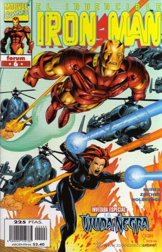 EL INVENCIBLE IRON MAN - Nº 6 - MARVEL / FORUM (Tebeos y Comics - Forum - Iron Man)