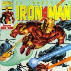 Cómics: EL INVENCIBLE IRON MAN - Nº 6 - MARVEL / FORUM. Lote 28199438