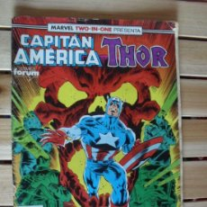Cómics: CAPITÁN AMERICA Y THOR Nº 66 - MARVEL TWO-IN-ONE. Lote 28258702