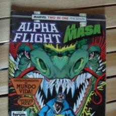 Cómics: ALPHA FLIGHT Y LA MASA Nº 50 - MARVEL TWO-IN-ONE. Lote 28258762