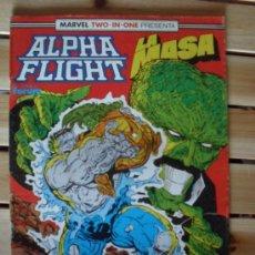 Cómics: ALPHA FLIGHT Y LA MASA Nº 56 - MARVEL TWO-IN-ONE. Lote 28258781