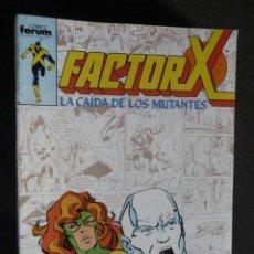 Cómics: FACTOR X. Nº 24. FORUM. Lote 28275500