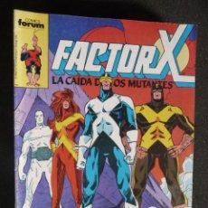 Cómics: FACTOR X. Nº 25. FORUM. Lote 28275503