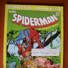 Cómics: SPIDERMAN ESPECIAL INVIERNO ** FORUM. Lote 28287684