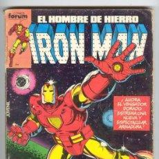 Cómics: IRON MAN, COMICS FORUM, TOMO DE 5 NUMEROS, Nº 1,2,3,4,Y 5, PUBLICACION MENSUAL, AÑO 1985.. Lote 28375792