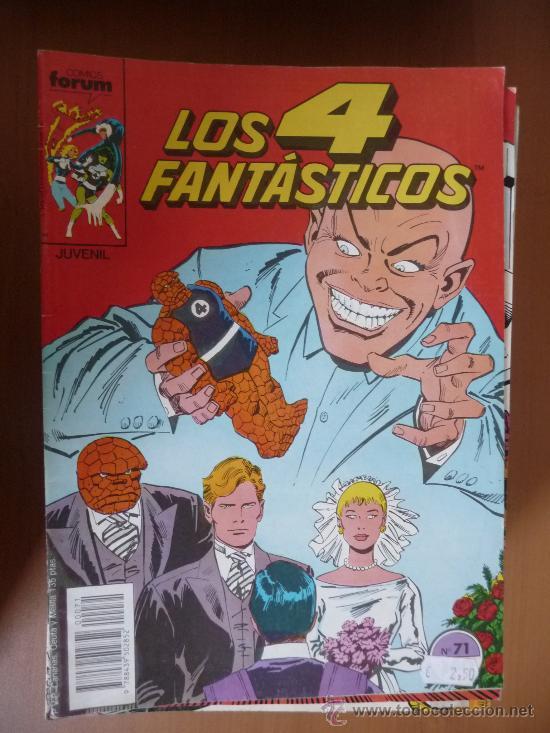 LOS 4 FANTÁSTICOS. VOL 1. Nº 71. FORUM (Tebeos y Comics - Forum - 4 Fantásticos)