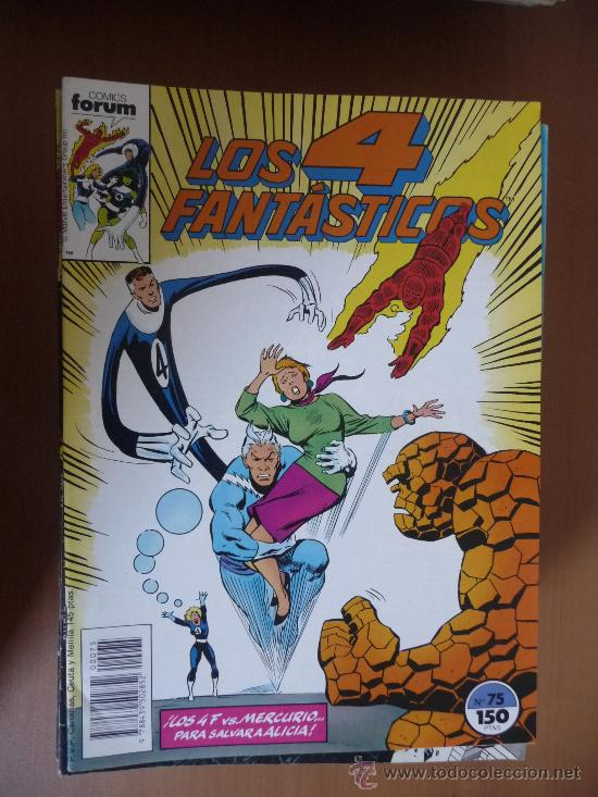 LOS 4 FANTÁSTICOS. VOL 1. Nº 75. FORUM (Tebeos y Comics - Forum - 4 Fantásticos)