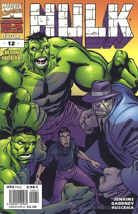 HULK Nº 12 VOLUMEN 4, ULTIMO NUMERO DEL VOLUMEN (Tebeos y Comics - Forum - Hulk)