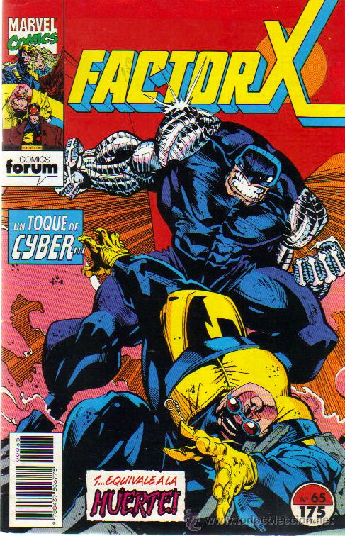 FACTOR X Nº 65 - 06/1993 (Tebeos y Comics - Forum - Factor X)