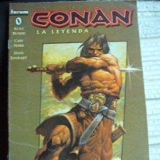 Cómics: COMIC BARBAROS FORUM: CONAN LA LEYENDA 0 BUSIEK KJ-F. Lote 128201730