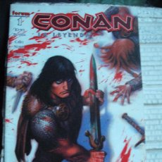 Cómics: COMIC BARBAROS FORUM: CONAN LA LEYENDA 1 BUSIEK KJ-F. Lote 128201771