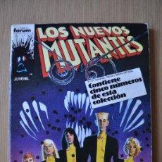 los NUEVOS MUTANTES nº 21, 22, 23, 24, 25 ed. FORUM RETAPADO