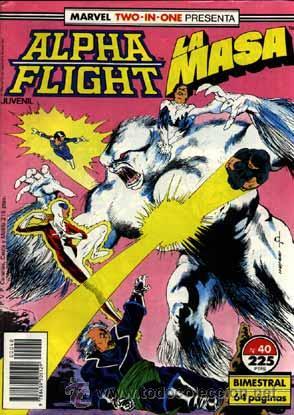 ALPHA FLIGHT N' 40 VOLUMEN I, JUNTO CON LA MASA (Tebeos y Comics - Forum - Alpha Flight)