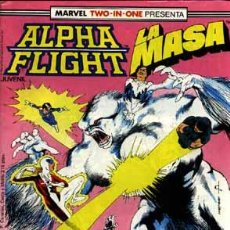 Cómics: ALPHA FLIGHT N' 40 VOLUMEN I, JUNTO CON LA MASA. Lote 28588076